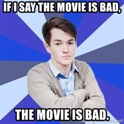 Victor the Vengeful - if i say the movie is bad, the movie is bad.