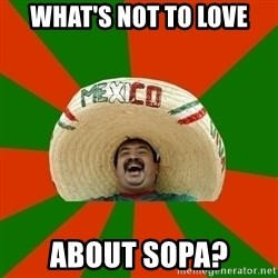 Successful Mexican - What's not to love About Sopa?