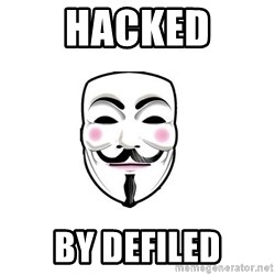 Anon - HaCKED By Defiled