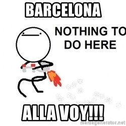 Nothing To Do Here (Draw) - barcelona alla voy!!!