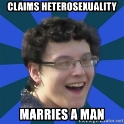 gay guy nick - Claims heterosexuality marries a man