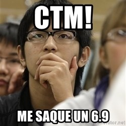 Asian College Freshman - ctm! me saque un 6.9