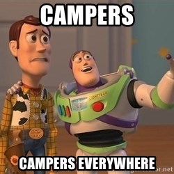 Toy Story Everywhere - campers campers everywhere