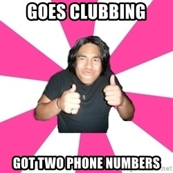 Over Excited Asian - Goes clubbing Got two phone numbers