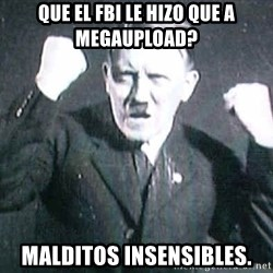 Successful Hitler - que el fbi le hizo que a megaupload? malditos insensibles.