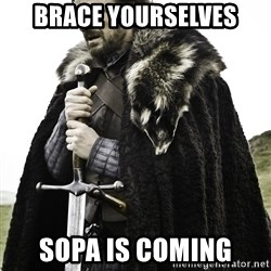 Sean Bean Game Of Thrones - Brace yourselves SOPA is coming