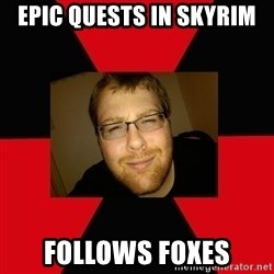 Jesse Cox - Epic quests in skyrim follows foxes