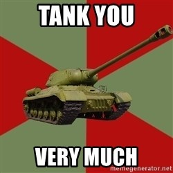 IS-2 Greatest Tank of WWII - tank you very much
