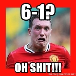 Phil Jones Scared Face - 6-1? OH SHIT!!!
