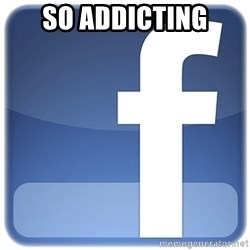 Facebook Logo - sO addicting