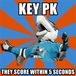 SJ Sharks Fail - Key PK they score within 5 seconds