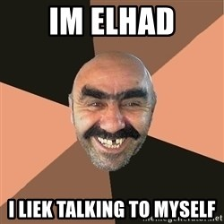 Provincial Man - Im elhad i liek talking to myself