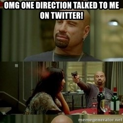 From Paris With Love - OMG one direction talked to me on twitter!