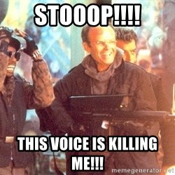 Clarence Boddicker - Stooop!!!! This VOICE is killing me!!!