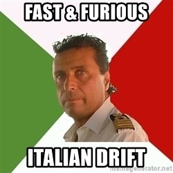 Captain Fail - Fast & Furious italian drift