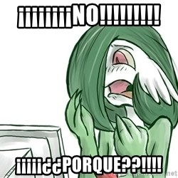 Pokemon Reaction - ¡¡¡¡¡¡¡¡no!!!!!!!!! ¡¡¡¡¡¿¿porque??!!!!