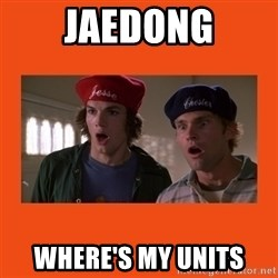 Dude where's my car - Jaedong where's my units
