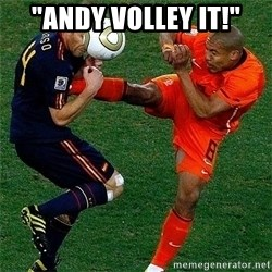 "Netherlands - ""andy volley it!"""