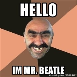 Provincial Man - Hello IM mr. Beatle