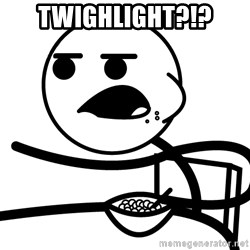 Cereal Guy - twighlight?!?
