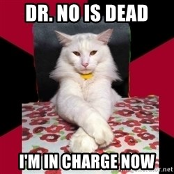 Evil Cat Final Boss - dr. no is dead i'm in charge now