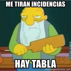 Thats a paddlin - ME TIRAN INCIDENCIAS HAY TABLA