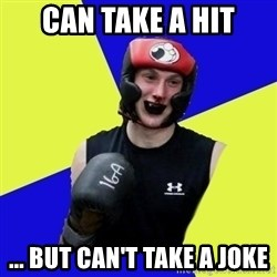 boxing logan - Can take a hit ... but can't take a joke