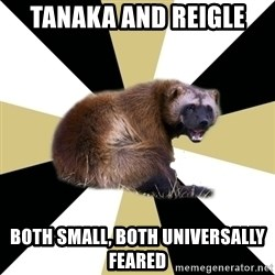 Westview wolverine - TANAKA AND REIGLE Both small, both universally feared