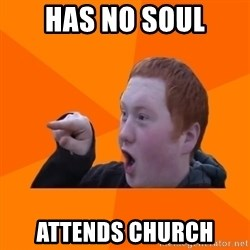 CopperCab Points - Has no Soul Attends church