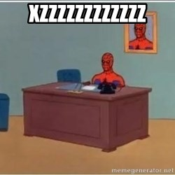 Spiderman Desk - xzzzzzzzzzzzz