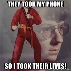 PTSD Karate Kyle - They took my phone So I took theIr lives!