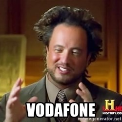 Ancient Aliens - vodafone