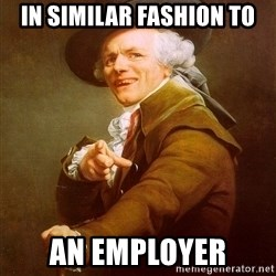 Joseph Ducreux - In similar Fashion To An Employer