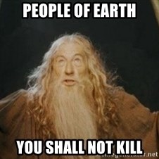 Gandalf - People Of Earth You shall not kill