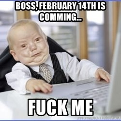 Posh Baby - Boss, February 14th is comming... Fuck me