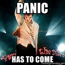Successful Brendon - Panic Has to come