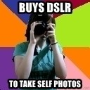 Professional Teenage Photographer - BUYS DSLR To take self photos