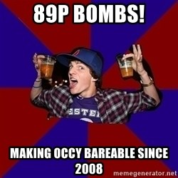 Sunny Student - 89p bombs! making occy bareable since 2008