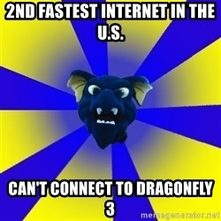 Drexel Dragon - 2ND FASTEST INTERNET IN THE U.S. CAN'T CONNECT TO DRAGONFLY 3