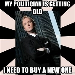 Corporate Commander - My Politician is getting old I need to buy a new one