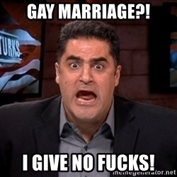 Angry Cenk - gAY MARRIAGE?! i give no fucks!