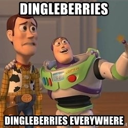 ORIGINAL TOY STORY - Dingleberries dingleberries everywhere