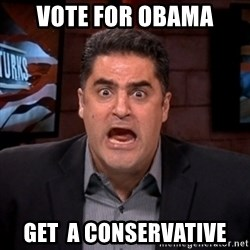 Angry Cenk - vote for obama get  a conservative