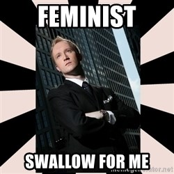 Corporate Commander - feminist swallow for me