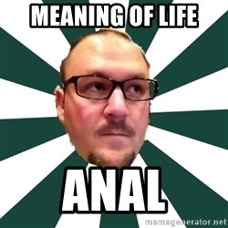 TBarnes - meaning of life anal