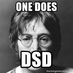 John Lennon - one does dsd