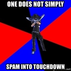 S4Player - One does not simply spam into touchdown