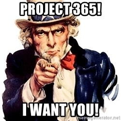 Uncle Sam Point - Project 365! I WANT YOU!