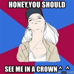 Jim Moriarty fan  - Honey,you should  see me in a crown ^_^