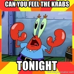 Mr. Krabs - Can You Feel the krabs tonight